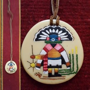 Native American Hopi necklace